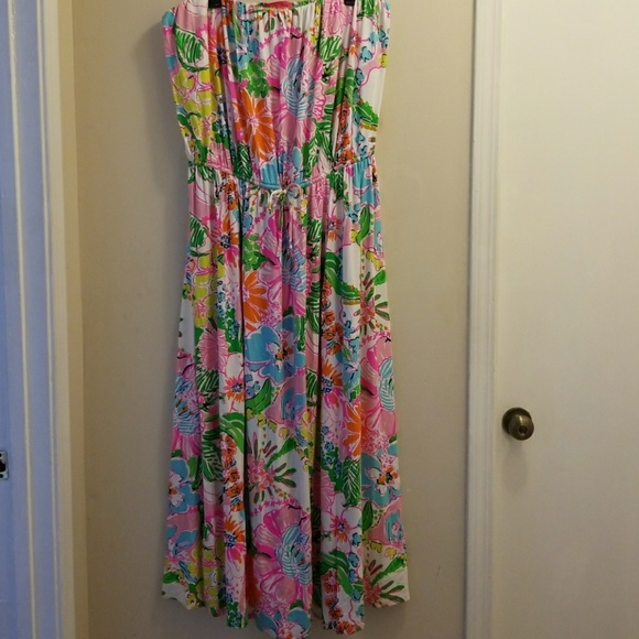 **plus size** Lilly Pulitzer target maxi 3X